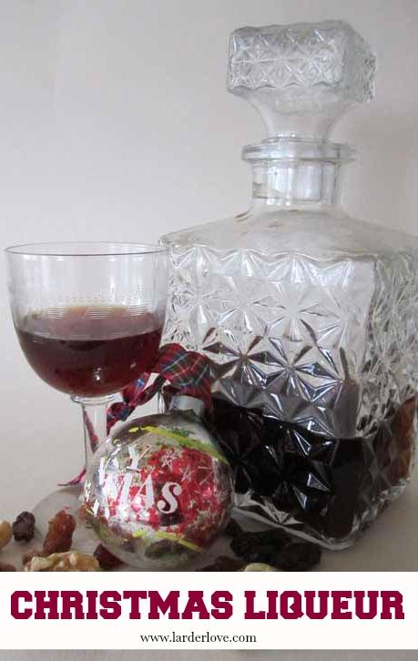 christmas liqueur by larderlove