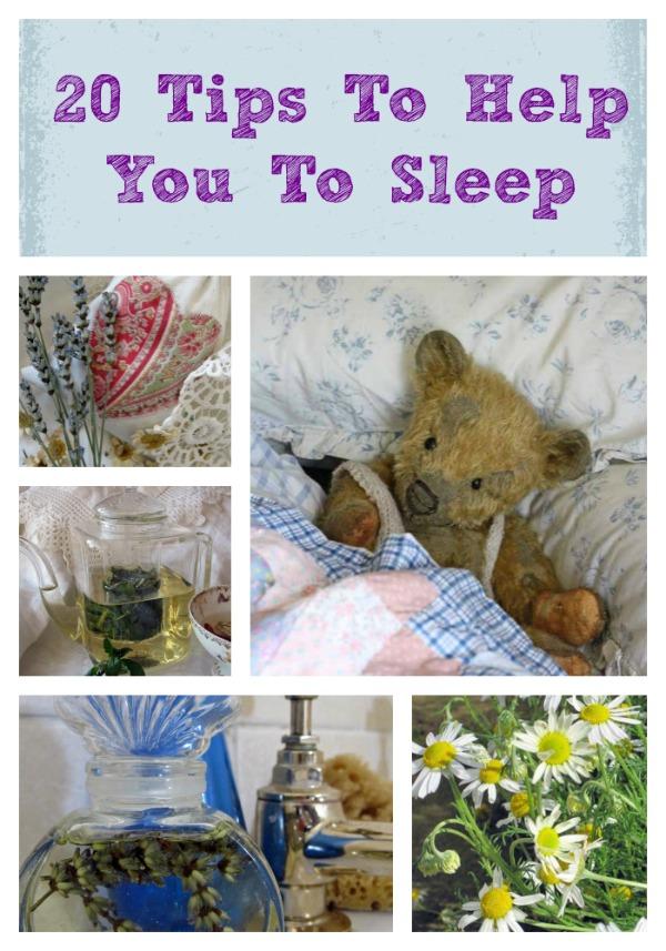 20 sleep tips