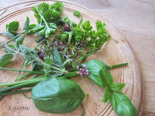 a simple herb dressing by larderlove