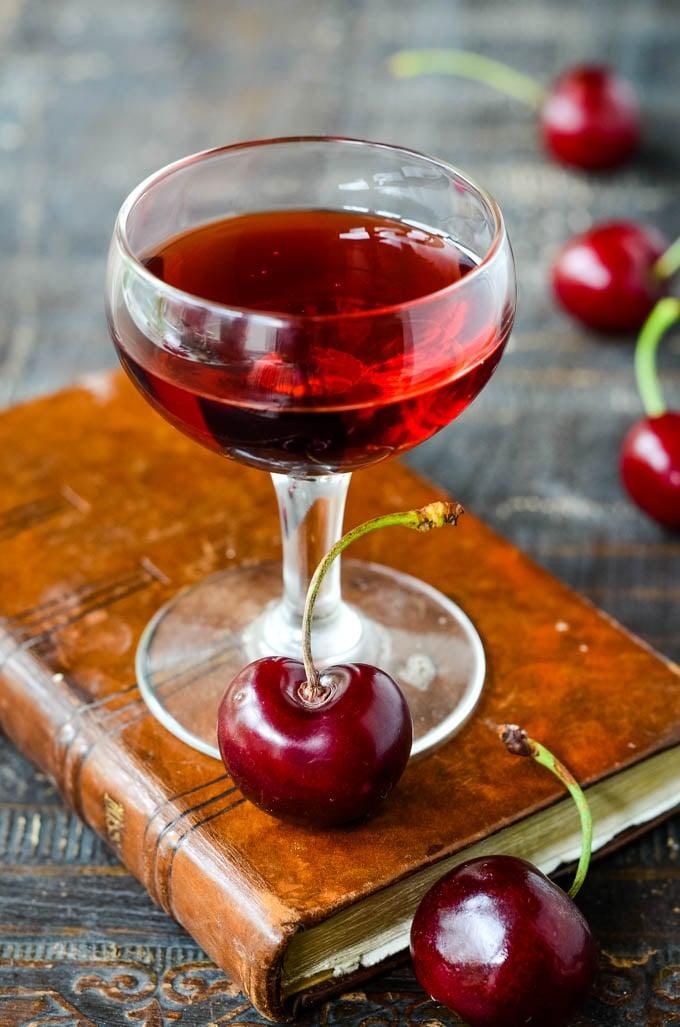 how to make cherry brandy by larderlove