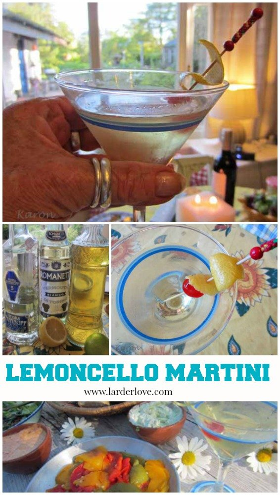 lemoncello martini by larderlove