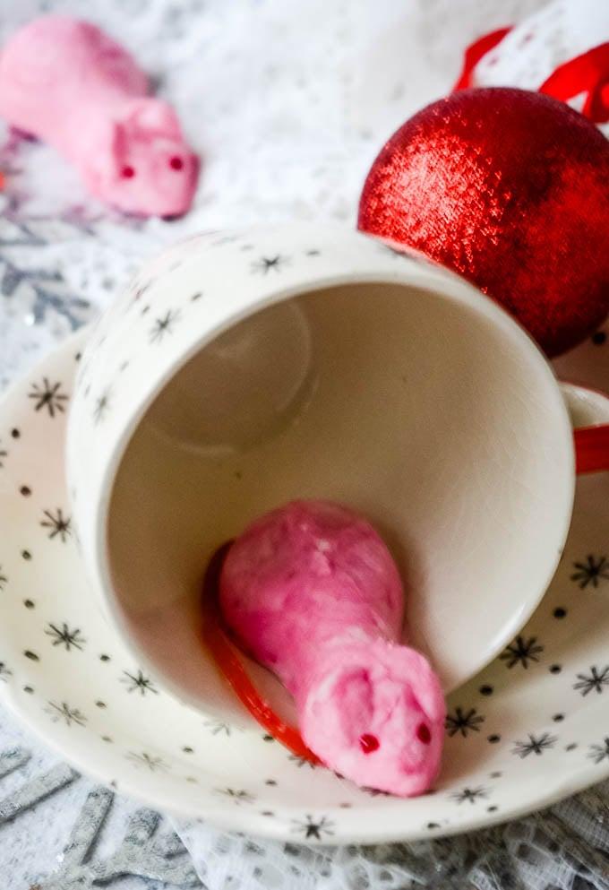 Christmas sugar mice