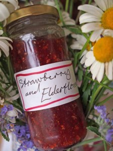 How To Make Strawberry & Elderflower Jam