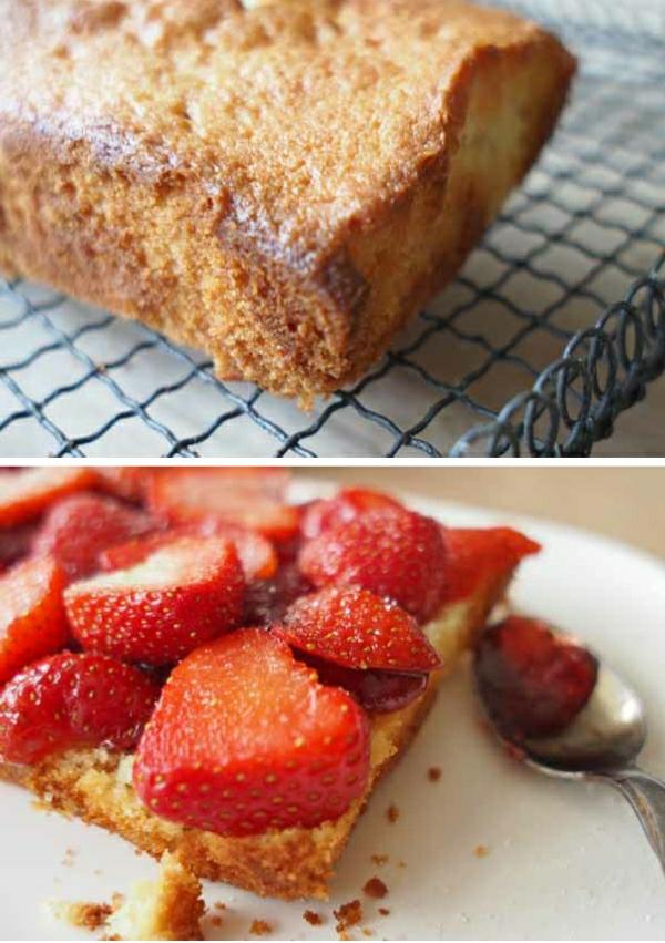 summer berry cake by larderlove