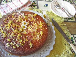 Lemon And Ginger Drizzle Cake