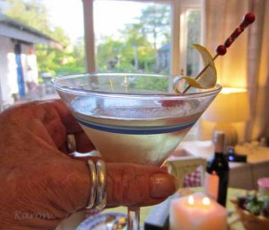 How To Make Lemoncello Martinis