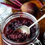 beetroot chutney by larderlove.com
