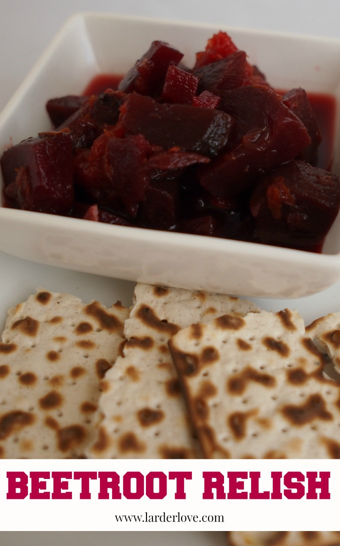 beetroot relish by larderlove