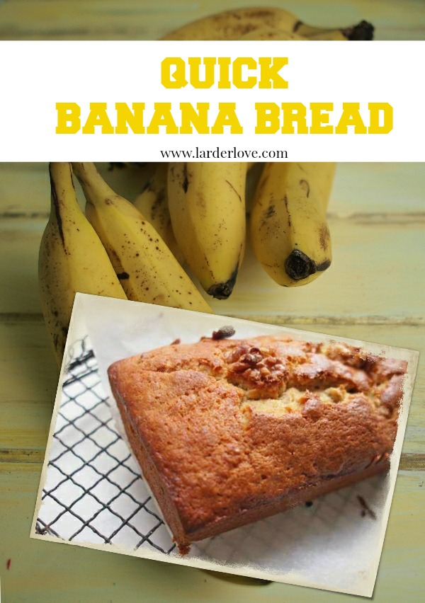 quick banana bread by larderlove