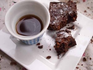 Coffee and Chocolate Brownies, Mochachino!