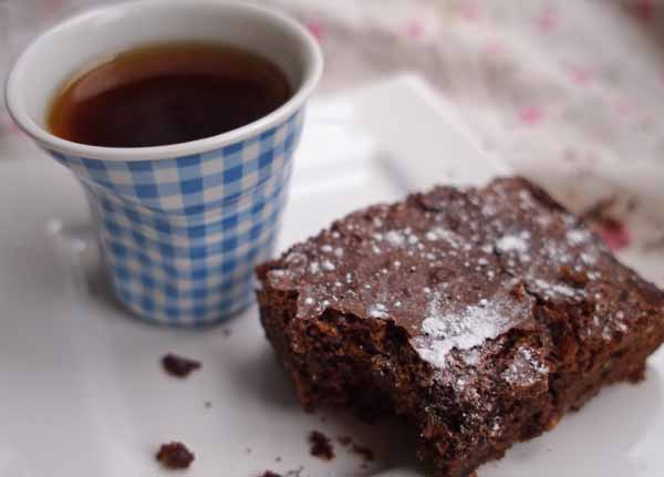 mochachino brownies by larderlove