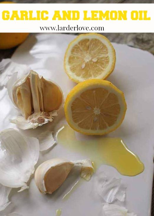 garlic and lemon oil by larderlove