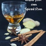 how to make your own spiced rum