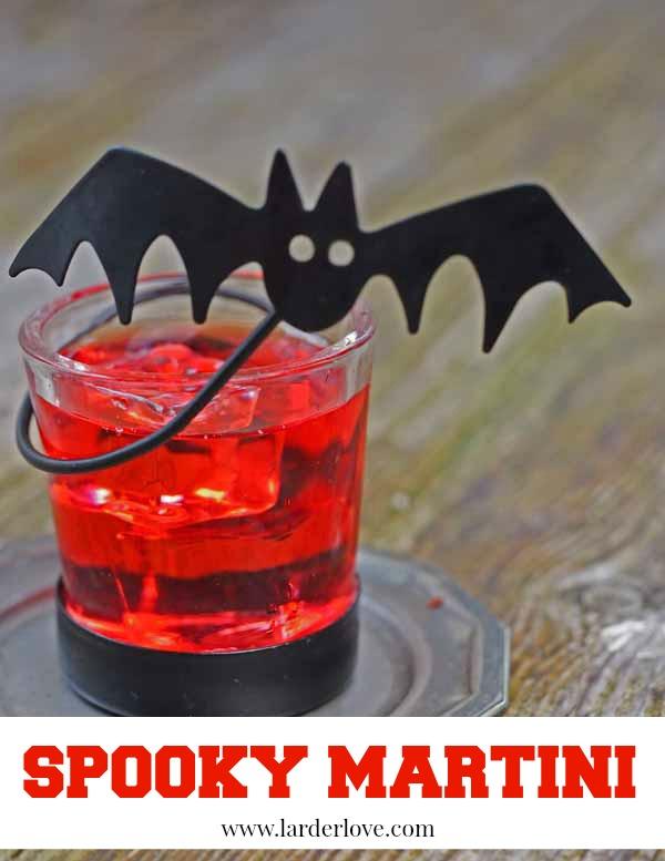 halloween cocktail by larderlove