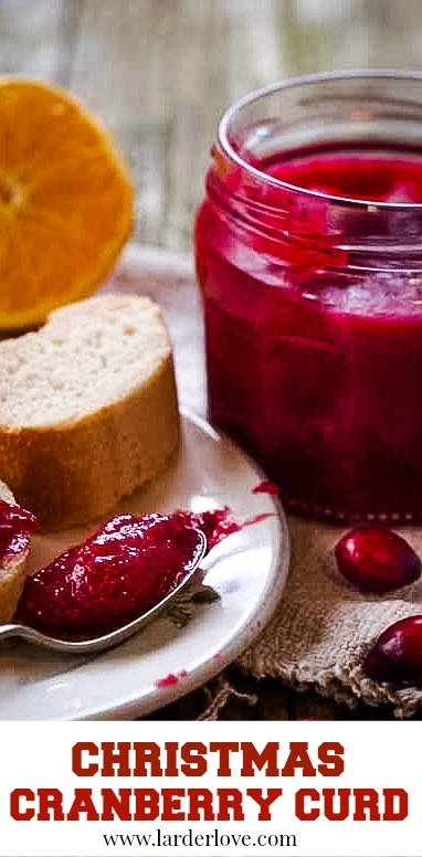 Super easy recipe for this Christmas Cranberry curd, perfect for Thanksgiving too of course and a great little foodie gift too