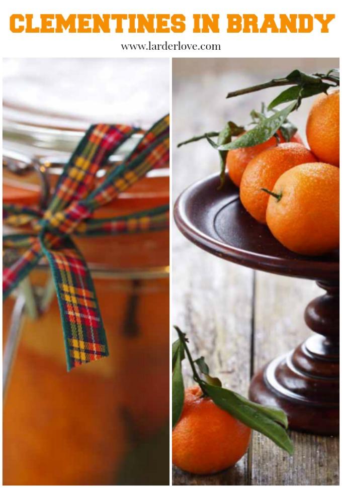 clementines in brandy by larderlove