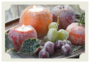 How To Make Frosted Fruit