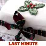 last minute christmas cake pin image