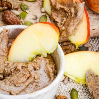 sugar free mixed nut butter with seeds