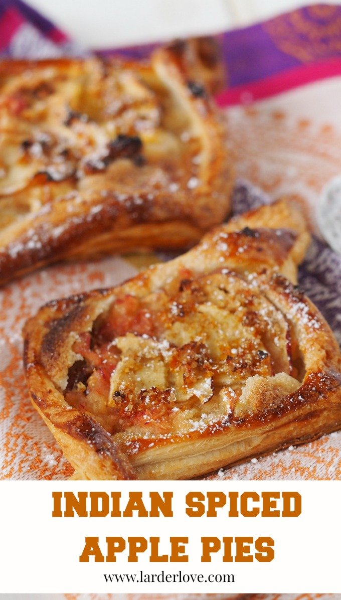indian spiced apple pies