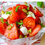 strawberry and tomato salad