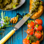 rosemary and walnut pesto