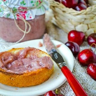 cherry curd by larderlove