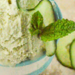 cucumber and mint ice-cream pin image
