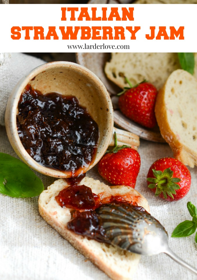 Italian strawberry jam by larderlove
