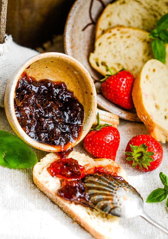 italian inspired strawberry jam by larderlove