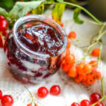 rowan and redcurrant jelly with berries