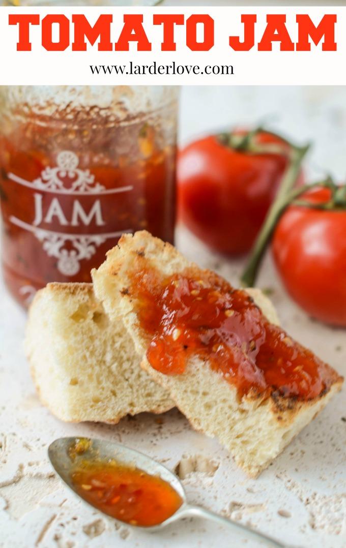 tomato jam by larderlove