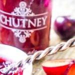 ginger plum chutney