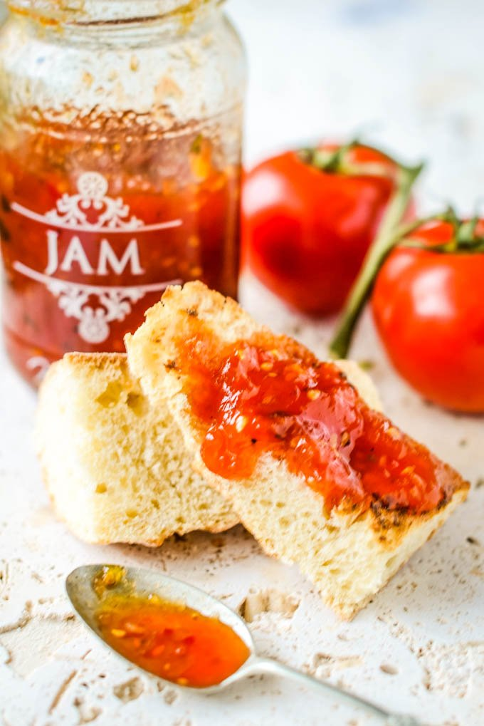 tomato jam with vodka