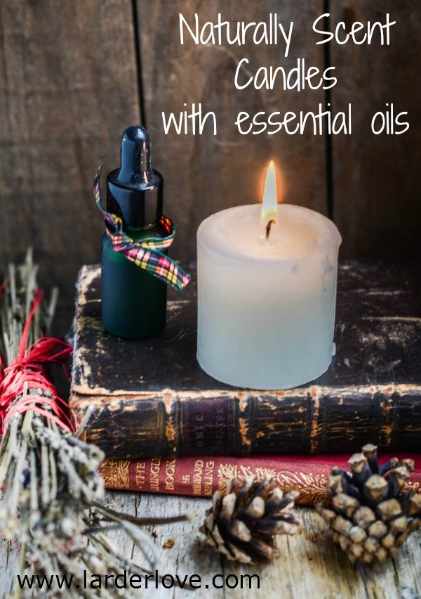 natural candle fragrance