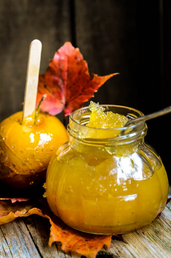 toffee apple jam by larderlove