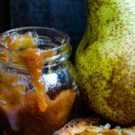 pear pepper and lemon jam