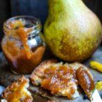 pepper pear and lemon jam