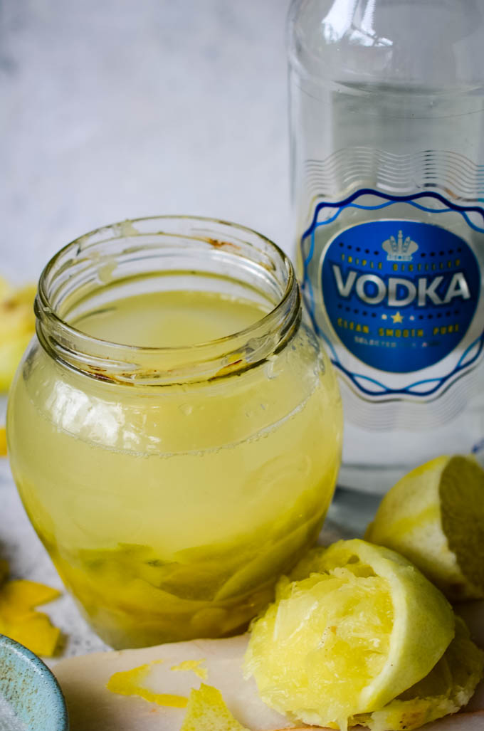 ingredients for limoncello