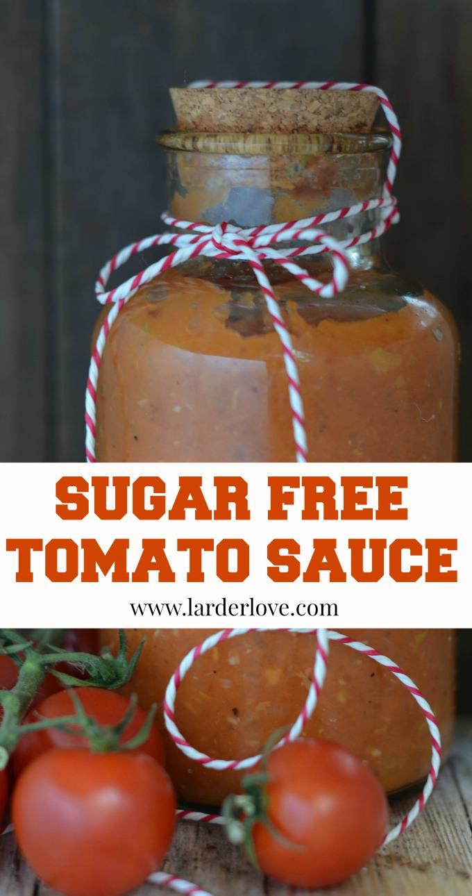 sugar free tomato sauce by larderlove