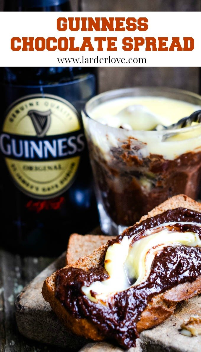 Guinness chocolate spread pin image