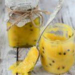 passionfruit and lemon curd by larderlove