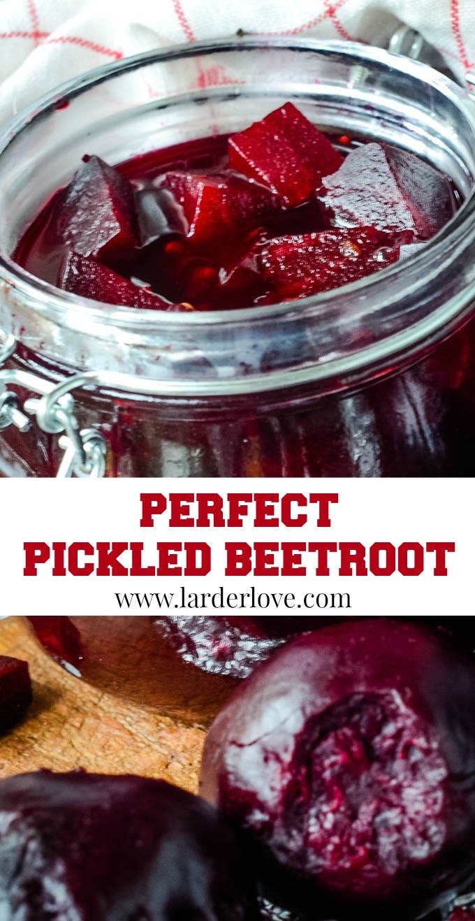 pickled beetroot pin image