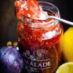 Mediterranean fig and lemon marmalade