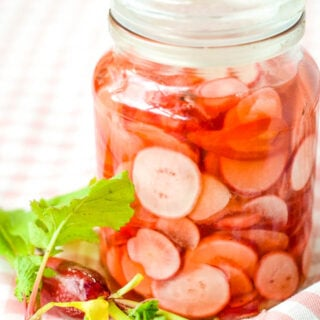 sugar free pickled radishes