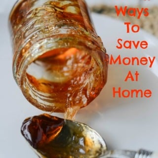 small ways to save money at home
