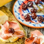 Spanish pickled cherries