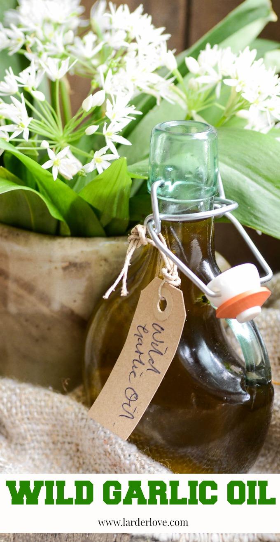 wild garlic oil by larderlove