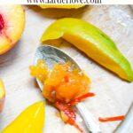 peach and mango chutney
