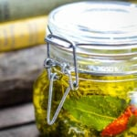 labneh in herb oil by larderlove